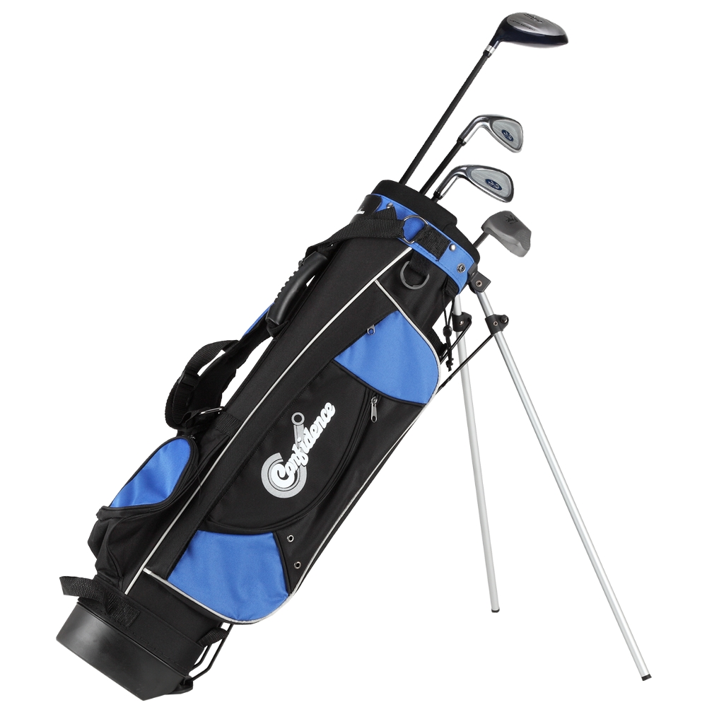 c5a60bbb39 Confidence Junior Golf Club Set with Stand Bag for Kids - Lefty ...