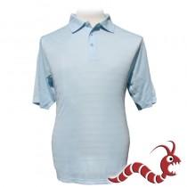 Woodworm Polo shirt Tone Hoop Light Blue
