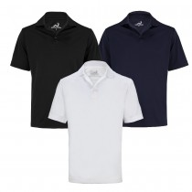 Woodworm Golf Solid Panel Polo Shirt - 3 pack