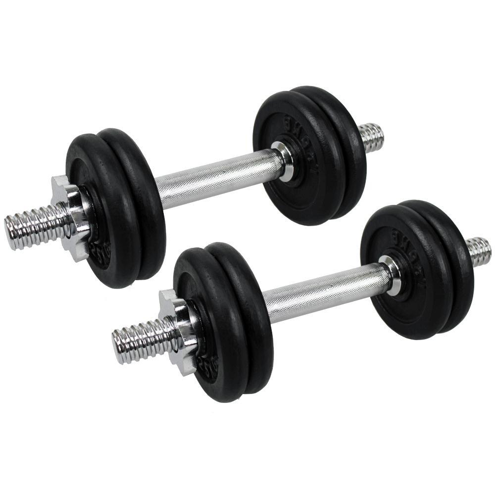 15kg Dumbbell Set: Confidence PRO 15kg/33lbs Dumbbell Weights Set