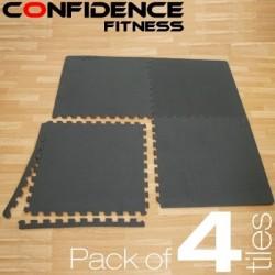 Confidence EVA Floor Mat / Guards - 4 Tiles