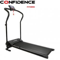 Confidence Power Plus Motorised Treadmill Black