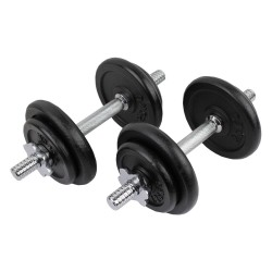 Confidence 20kg Dumbbell Weights Set