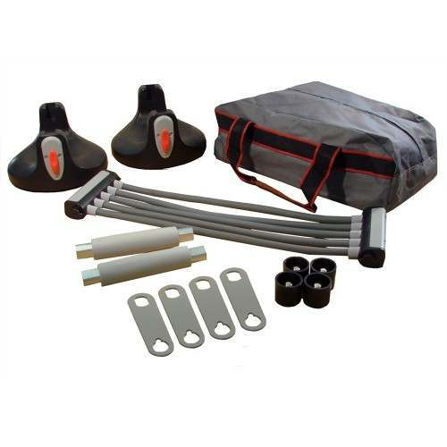 Confidence 2-in-1 Chest Expander / Rotating Push Up Handles Set