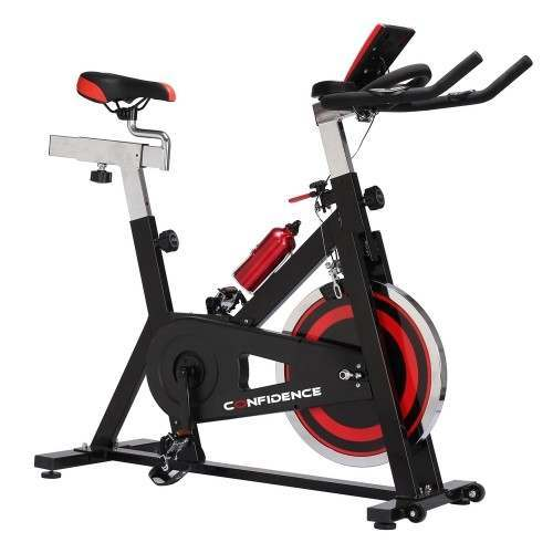 Confidence Fitness S3000 Exercise Bike with 18kg Flywheel