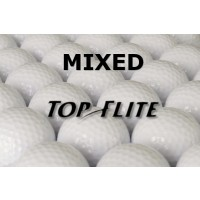24 Top Flite Mixed Lake Balls - Grade AAA
