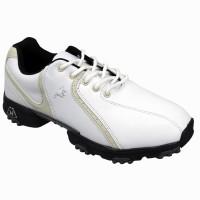 Woodworm Golf Ladies Golf Shoes - White / Beige