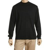 Greg Norman Long Sleeve Interlock Mock Neck Shirt