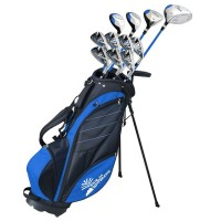Palm Springs Visa V2 Graphite/Steel Golf Club Set and Bag +1""