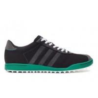Adidas Adicross II WD Golf Shoes - Black / Green