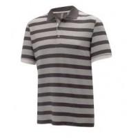 Ashworth Melange Shadow Stripe Jersey Polo