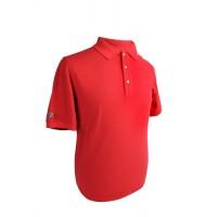 Cleveland Golf Cornerstone Pique Polo Shirt - Red