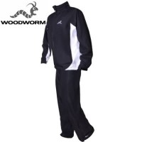 Woodworm Golf Waterproof Suit - Black