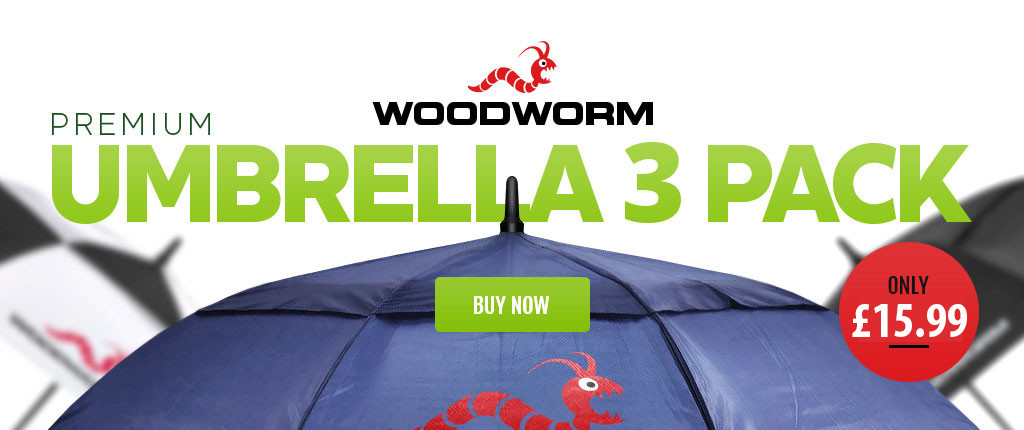Woodworm Golf Umbrellas Specials