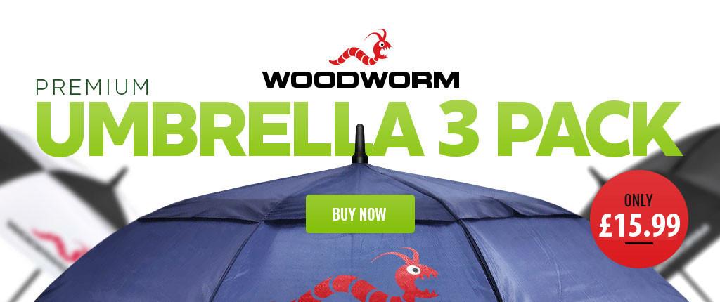 Woodworm Golf Umbrellas Specials