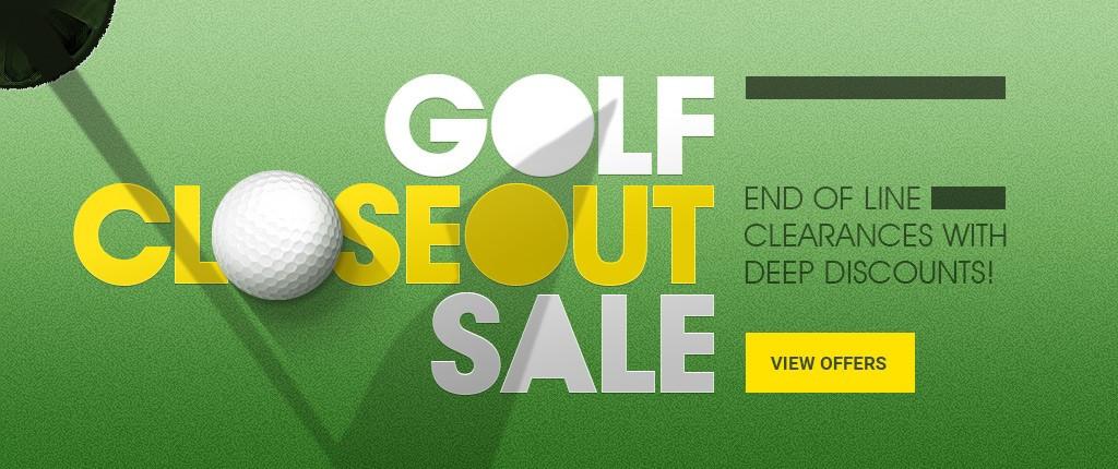 Golf Closeout Sale